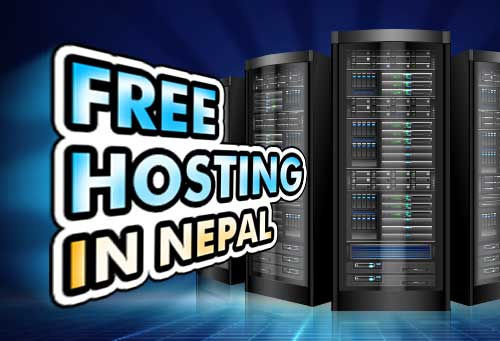 How to get free hosting in Nepal?
